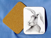 harry hare coaster