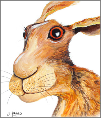 Albert the hare,