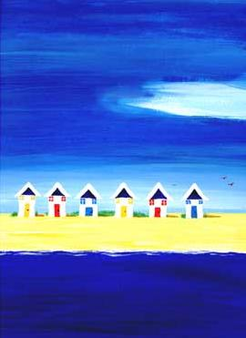 Beach Hut Row